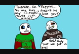 Christmas Party Au Comic.Christmas Party Au Movie Undertale Comic Dub