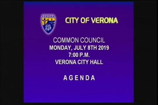 Common Council 07-08-19 Live Stream