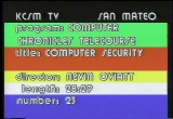 Still frame from: Computer Security