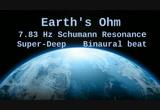 Earth's Ohm, 7 83 Hz Deep Theta Binaural Beat ( Schumann Resonance For 12  Hours )