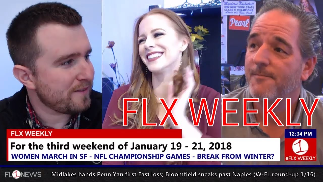 FLX WEEKLY: Winter's grip and Women March in Seneca Falls (podcast)