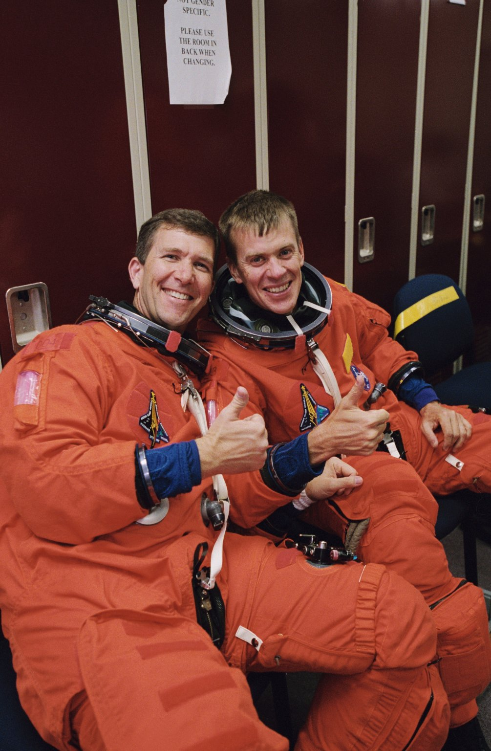 STS-107 Astronauts Rick Husband and Willie McCool : NASA ...