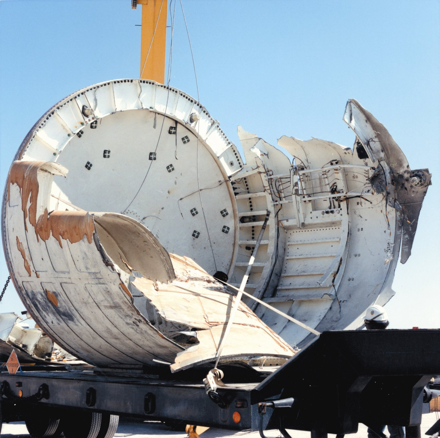 space shuttle challenger wreckage - photo #4