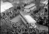 German WW2 Prisoners Come Back ( 1955)