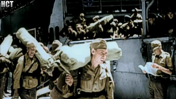 Erwin Rommel And His German Afrika Korps 1941 (Combat Footage)