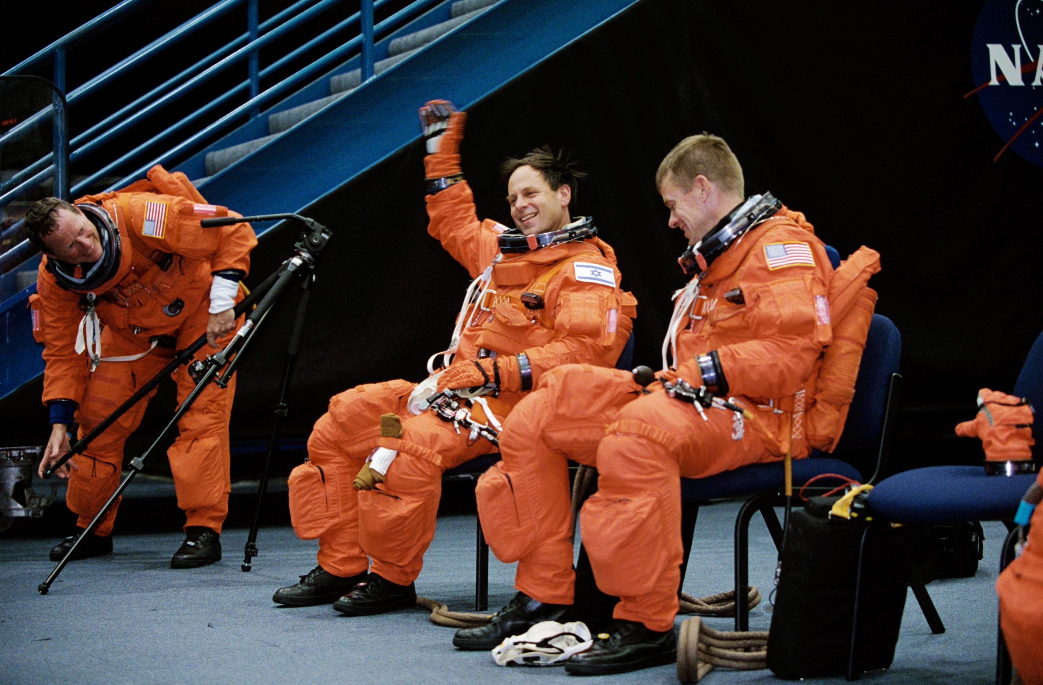 STS-107 Crew Training : NASA :...