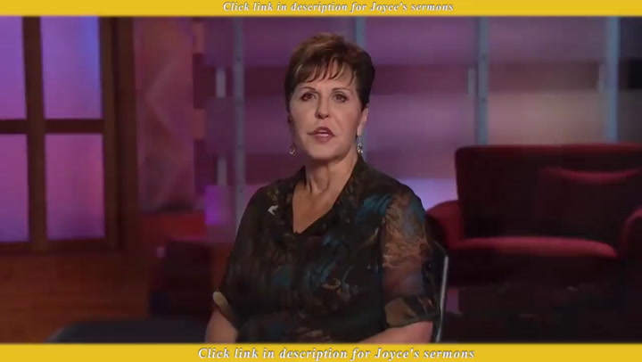 Joyce Meyer — Enjoy Your Journey