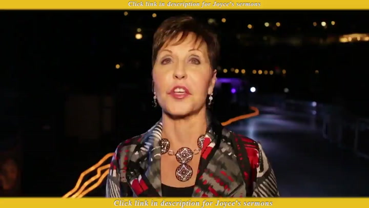 Joyce Meyer — Friday At The Love Life Women's Conference
