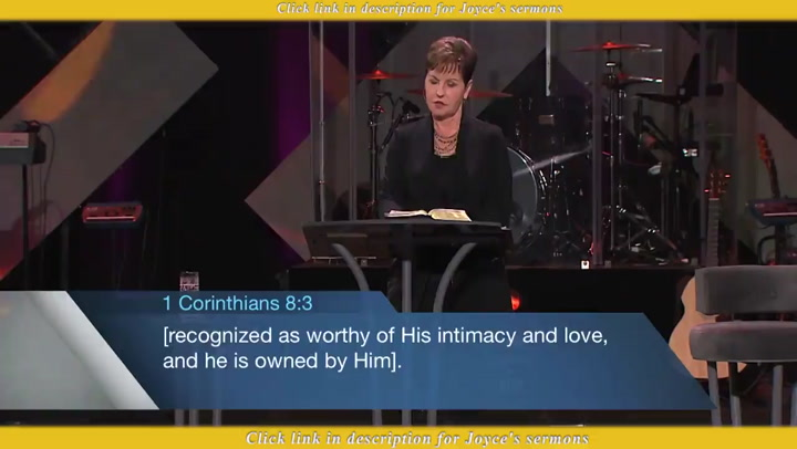Joyce Meyer — It's Not Too Late For You!