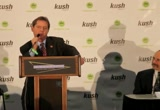 Still frame from: KUSHCON II Cheryl Shuman Introduces Irv Rosenfeld