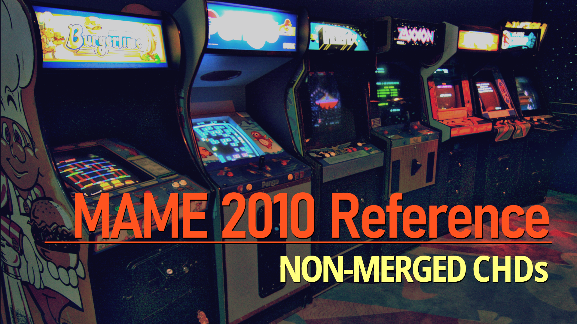 MAME 2010 Reference: Non-Merged CHDs : Free Download, Borrow, and