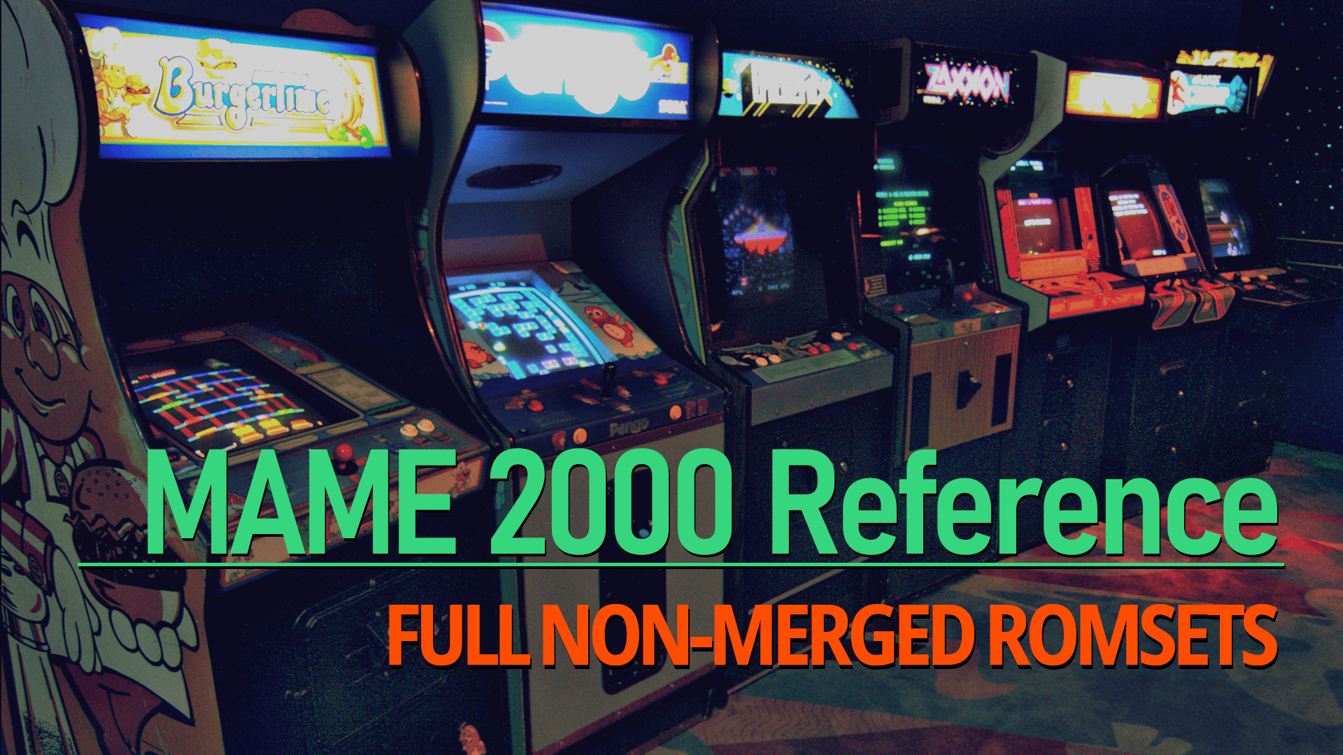 MAME 2000 Reference: MAME 0 37b5 ROMs and Samples : Free