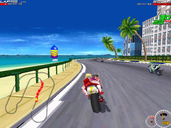 Free games downloads: motogp: ultimate racing technology 3 demo (game).
