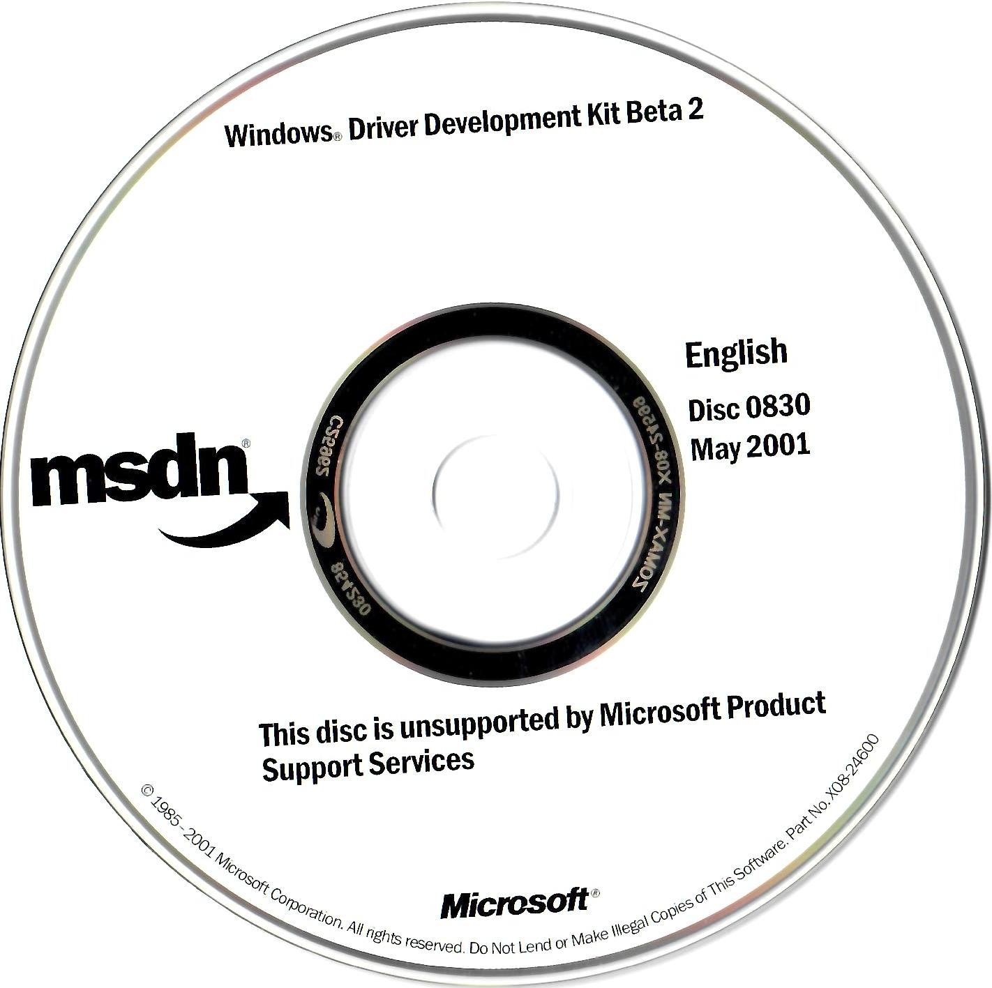 MSDN Disc 0830 May2001 : Free Download, Borrow, and
