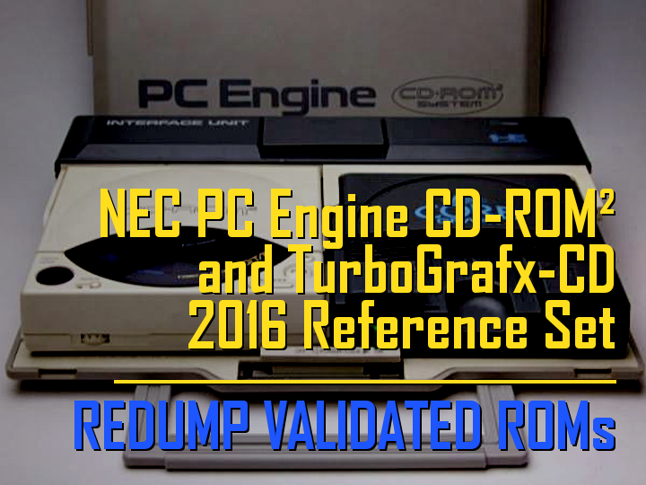 NEC - PC Engine CD-ROM2 System and Turbografx CD 2016