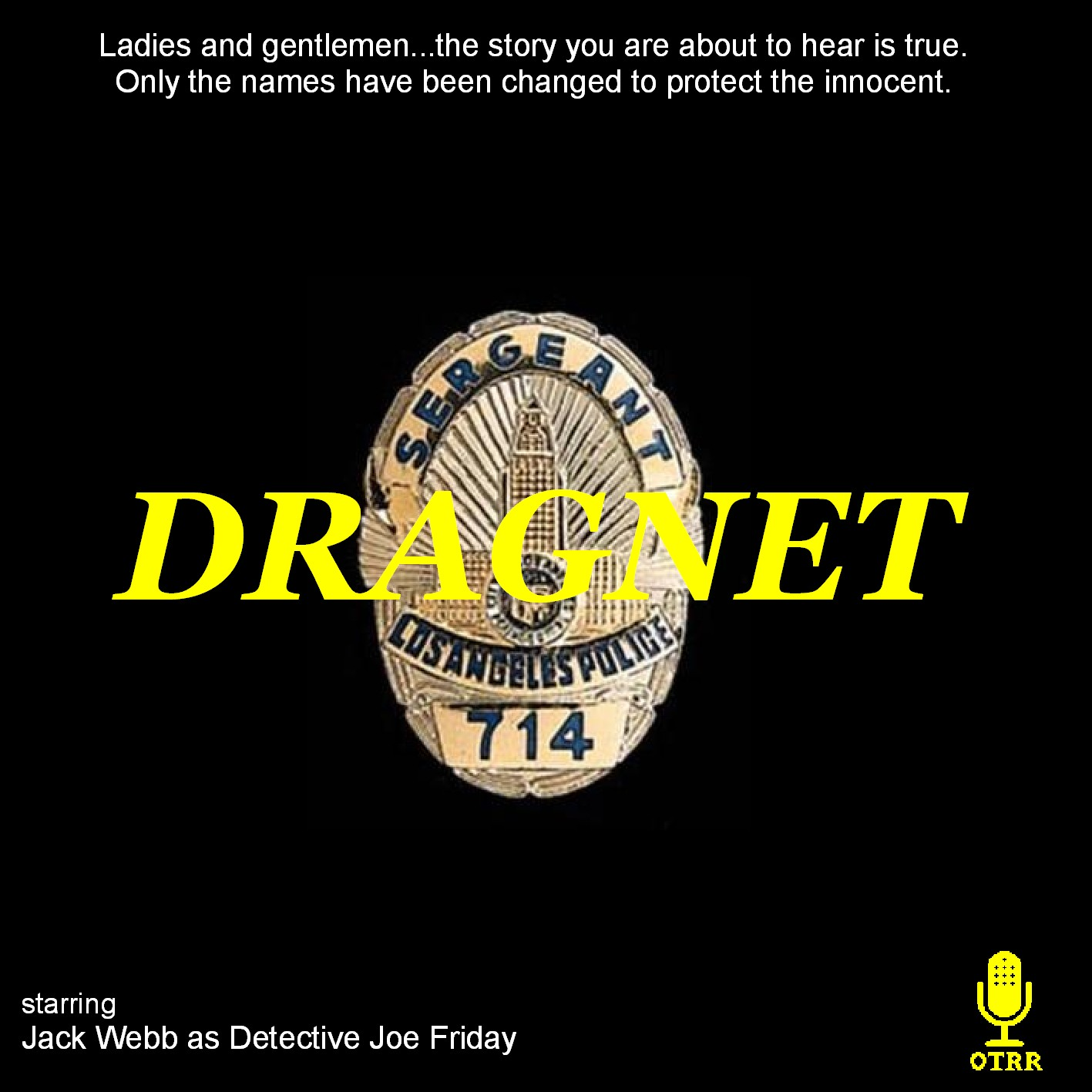 Dragnet : Old Time Radio Researchers Group : Free Download