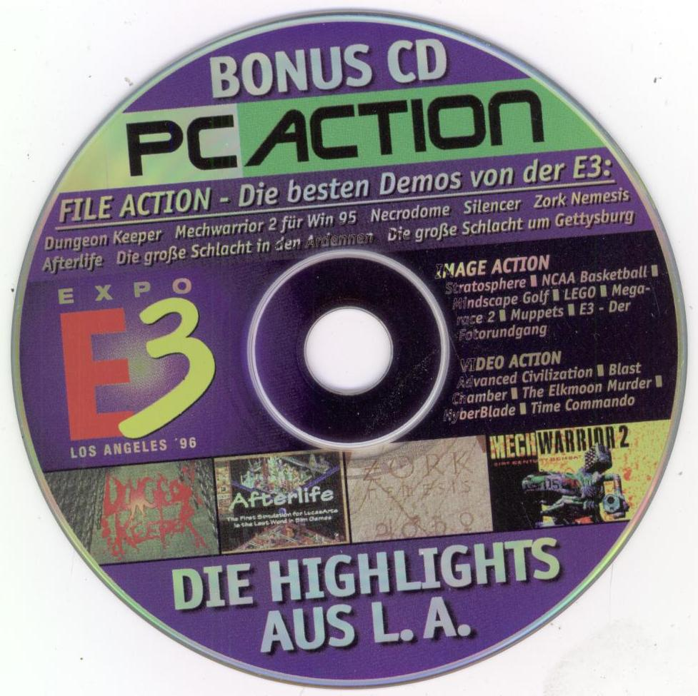 PC Action CD-ROM (Disc 2) (July 1996) : Free Download