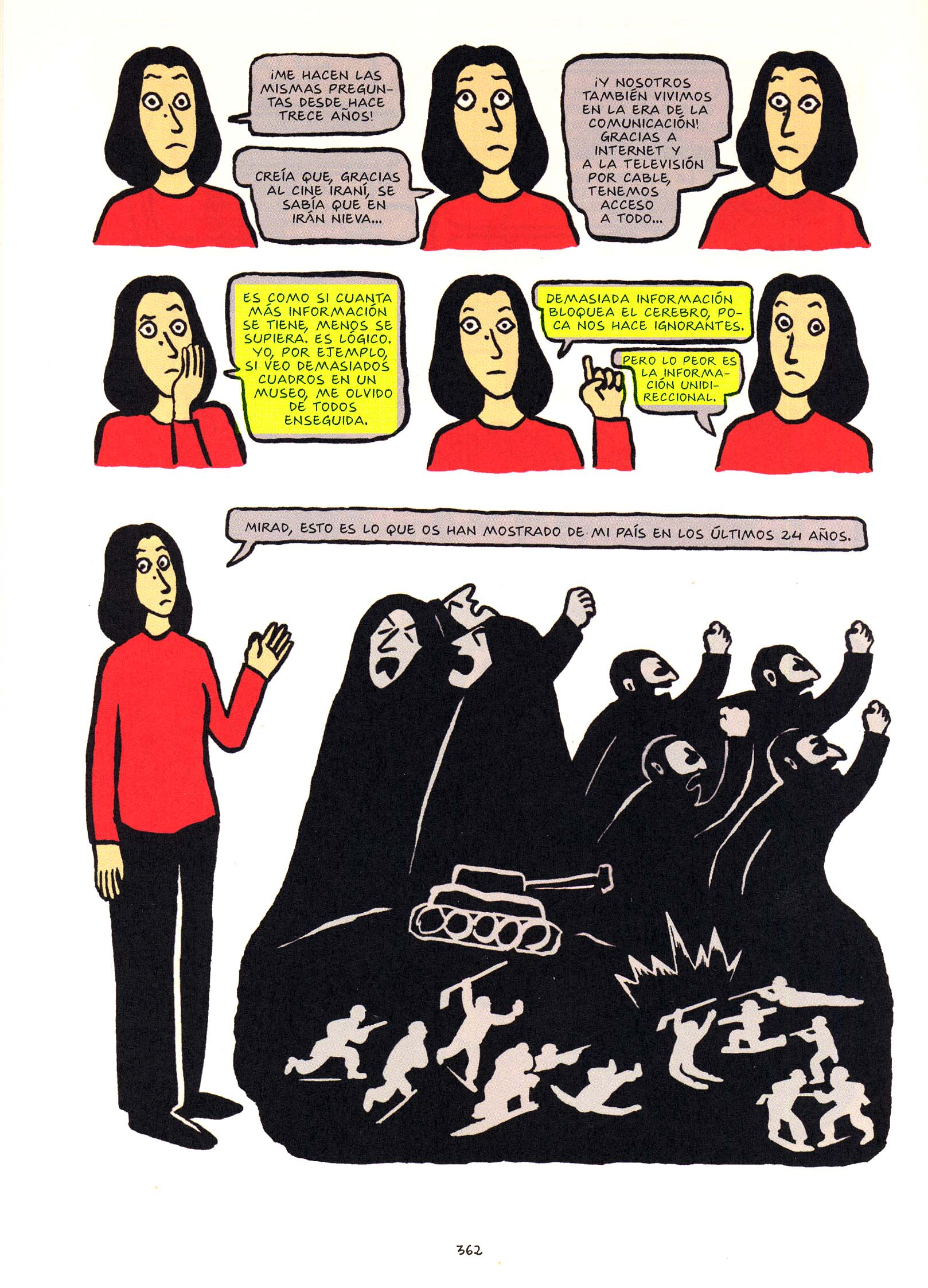 the veil as a symbol in marjane satrapis persepolis Persepolis is the poignant story of a young though it means putting on the veil and living in a persepolis - exclusive: marjane satrapi.