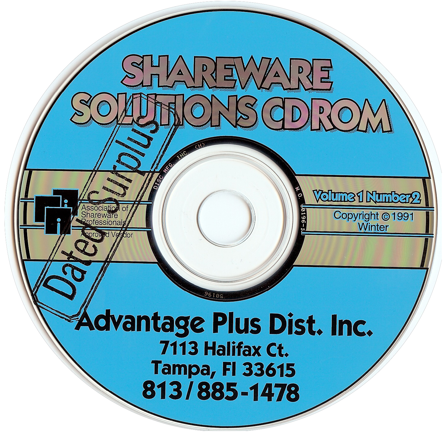 Shareware CD-ROMs : Free Texts : Download & Streaming : Internet ...
