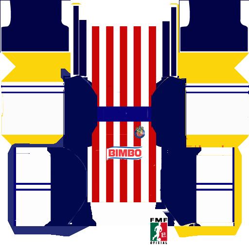 trajes para dream league soccer de chivas