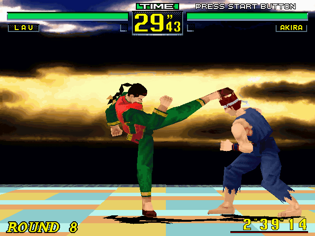 Virtua Fighter Demo : Sega : Free Download, Borrow, and