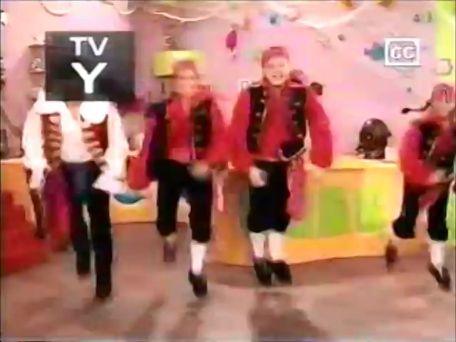 The Wiggles - Picking Flowers (May 2007, Playhouse Disney airing,  incomplete)