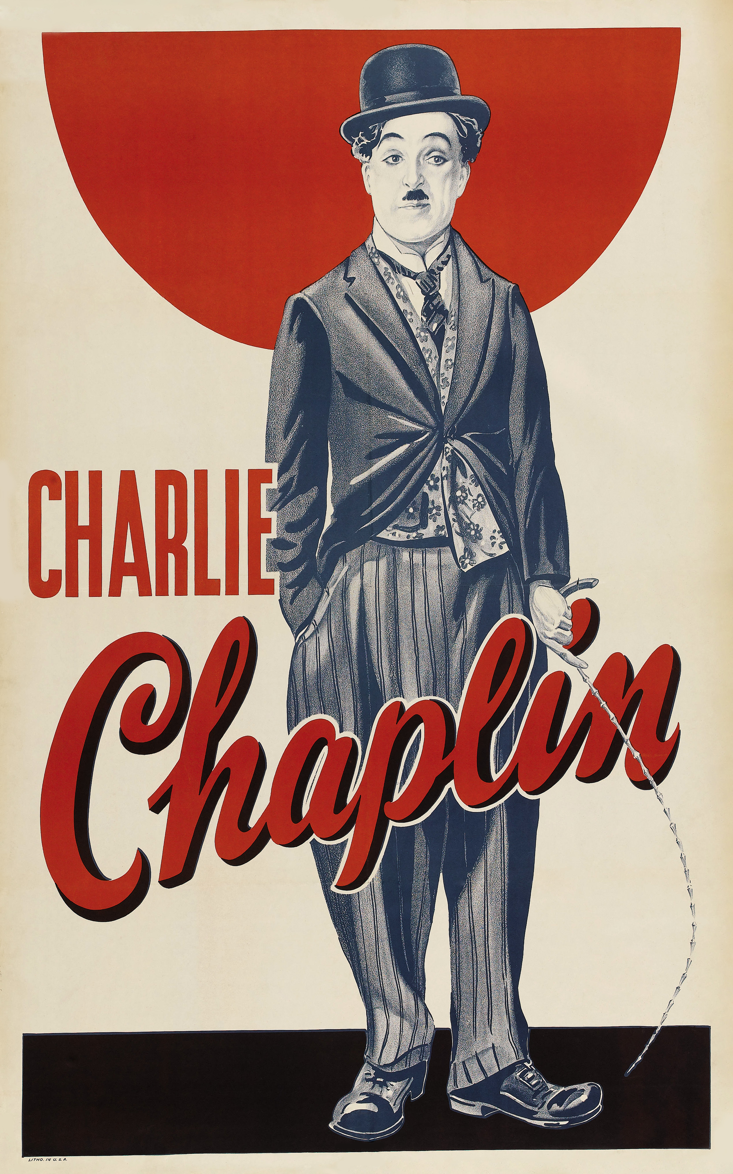 Charlie Chaplin Poster Silent Movie Cinema Free Download