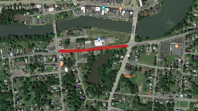 Portion of Bayard Street to close for 24 hours in Seneca Falls