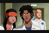 Still frame from: DC Nation: 'Young Justice: Invasion – Runaways' Clip
