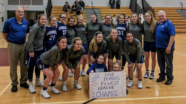 Wayne clinches share of East title; Bloomfield girls win FL West; Midlakes completes perfect regular season (W-FL round-up 2/13)