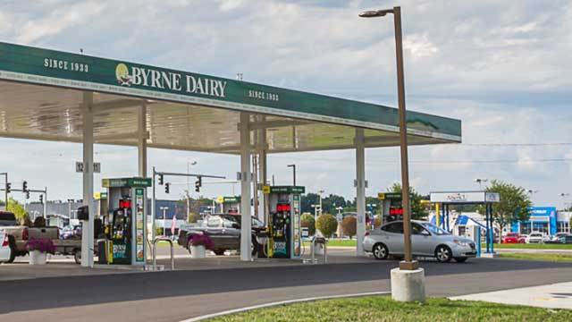 Armed robbery reported at Byrne Dairy on 5&20 in Border City