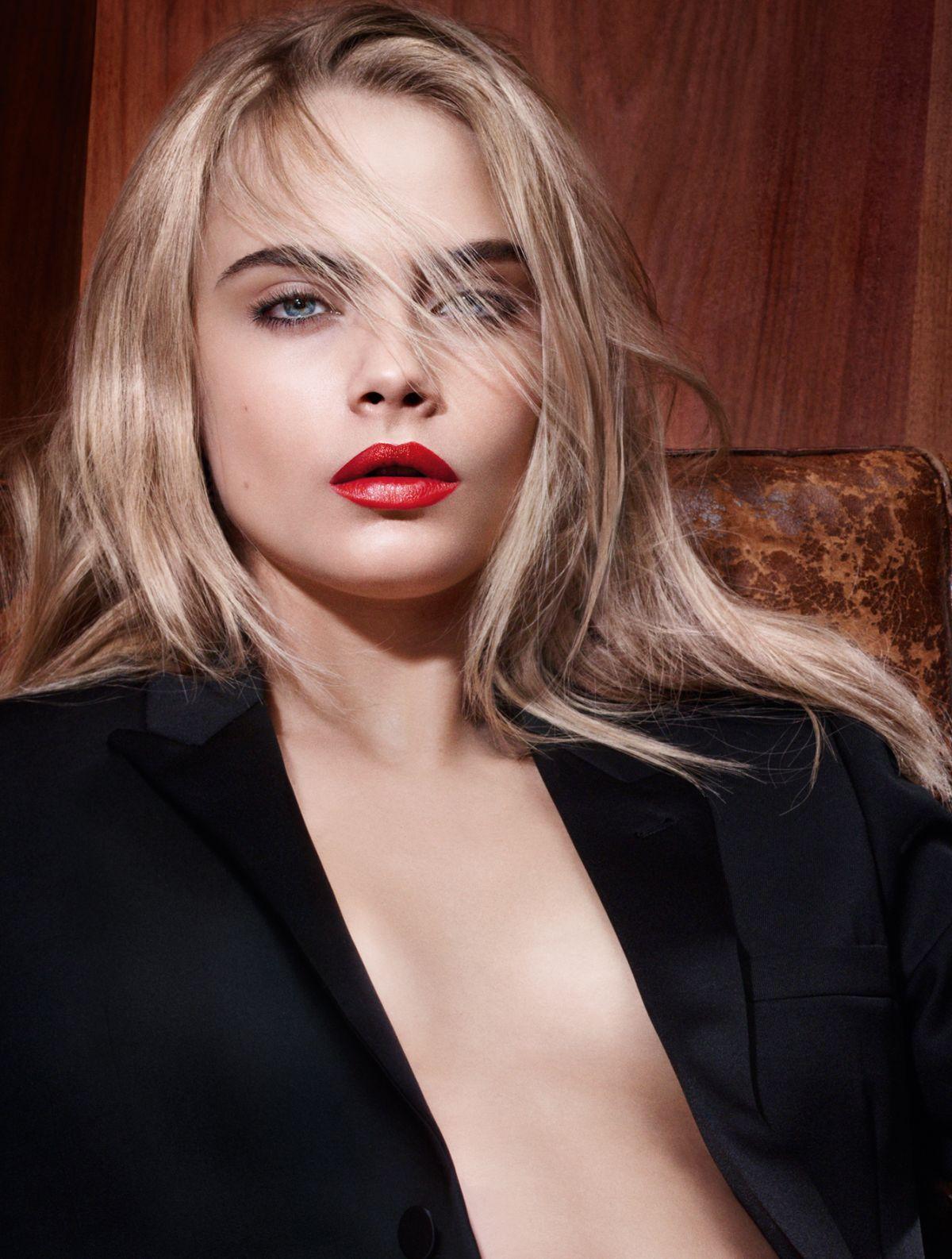 cara-delevingne-in-photoshoot-for-yves-saint-laurent-lipsticks_1 ...