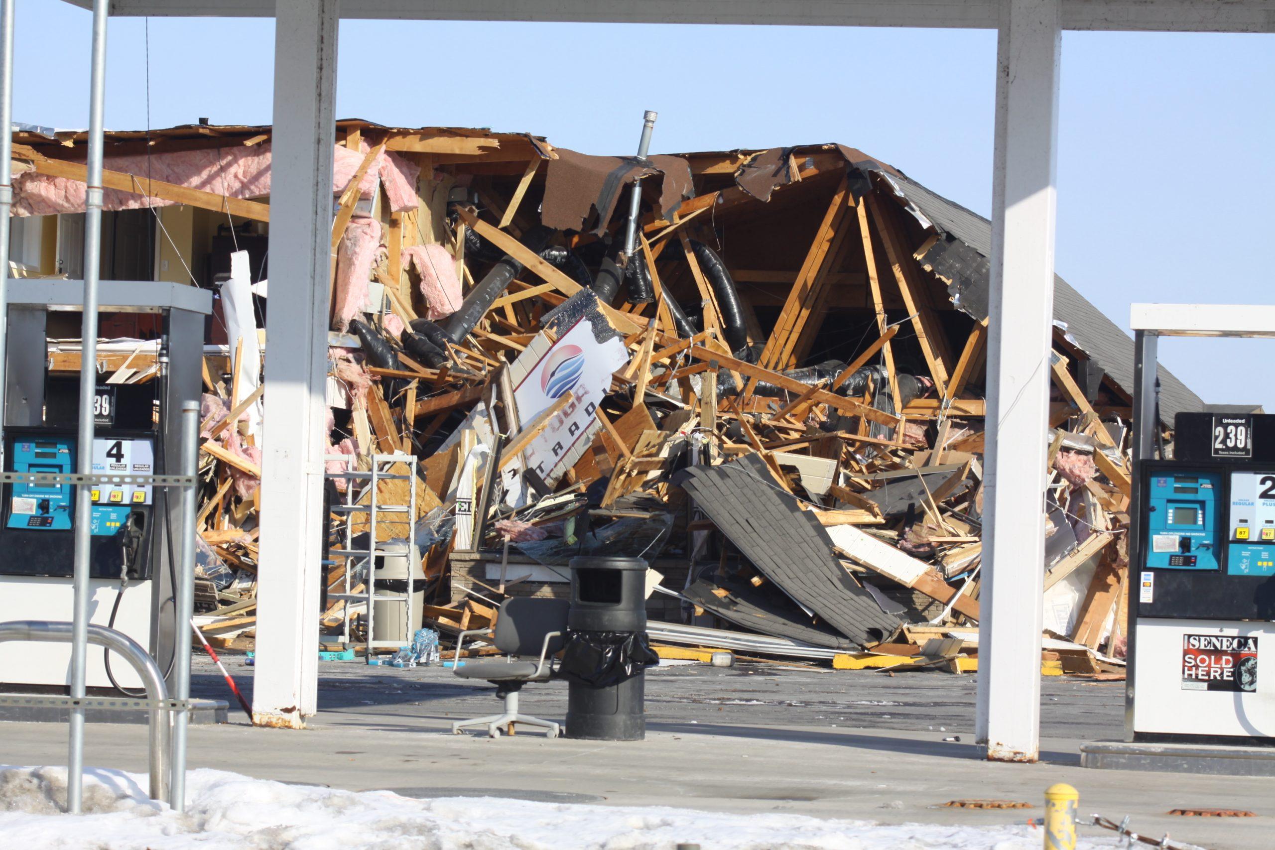 Cayuga Nation structures demolished overnight
