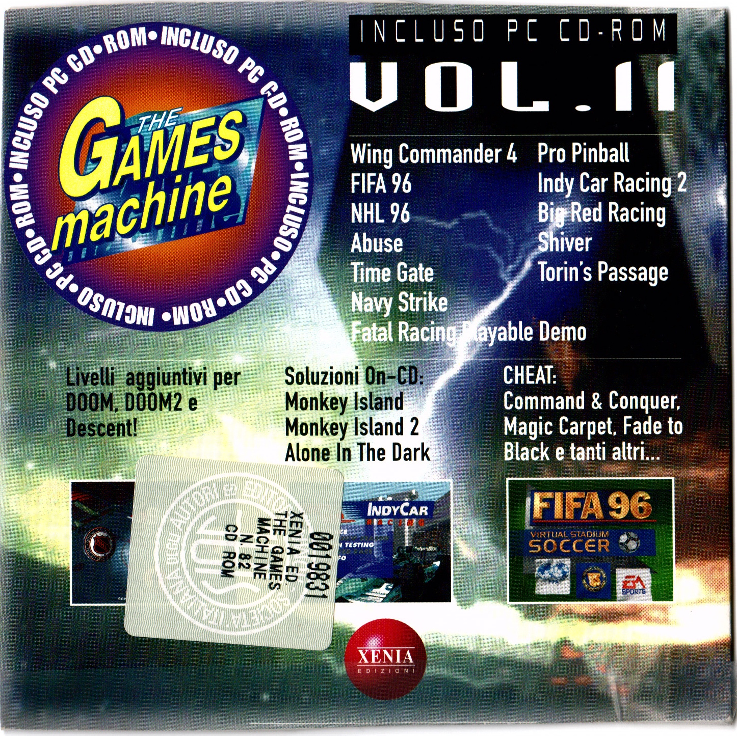 The Games Machine CD - Volume 011 : Xenia Edizioni : Free Download