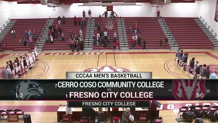 FCC Men's Basketball vs  Cerro Cosso