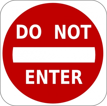 do not enter sign clip art free download borrow and streaming rh archive org