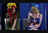 Doctor with Poison Ivy and Captain America - Comic Con ...