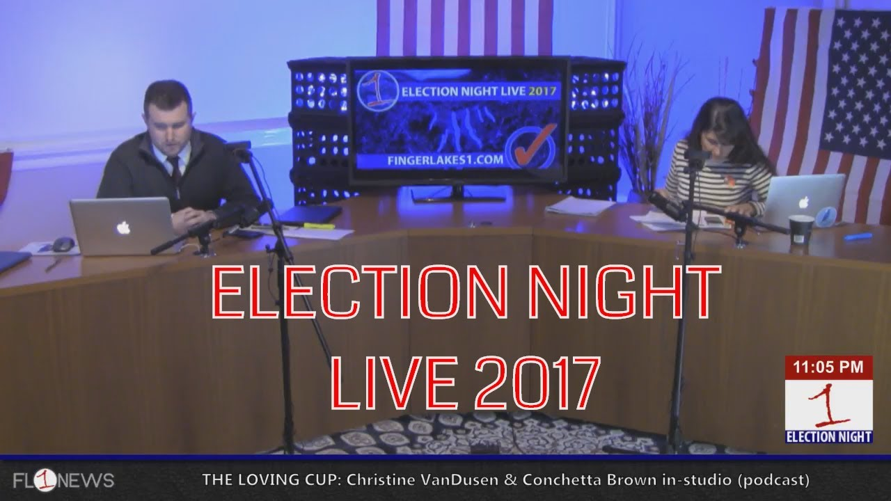ELECTION NIGHT LIVE 2017 (webcast replay)