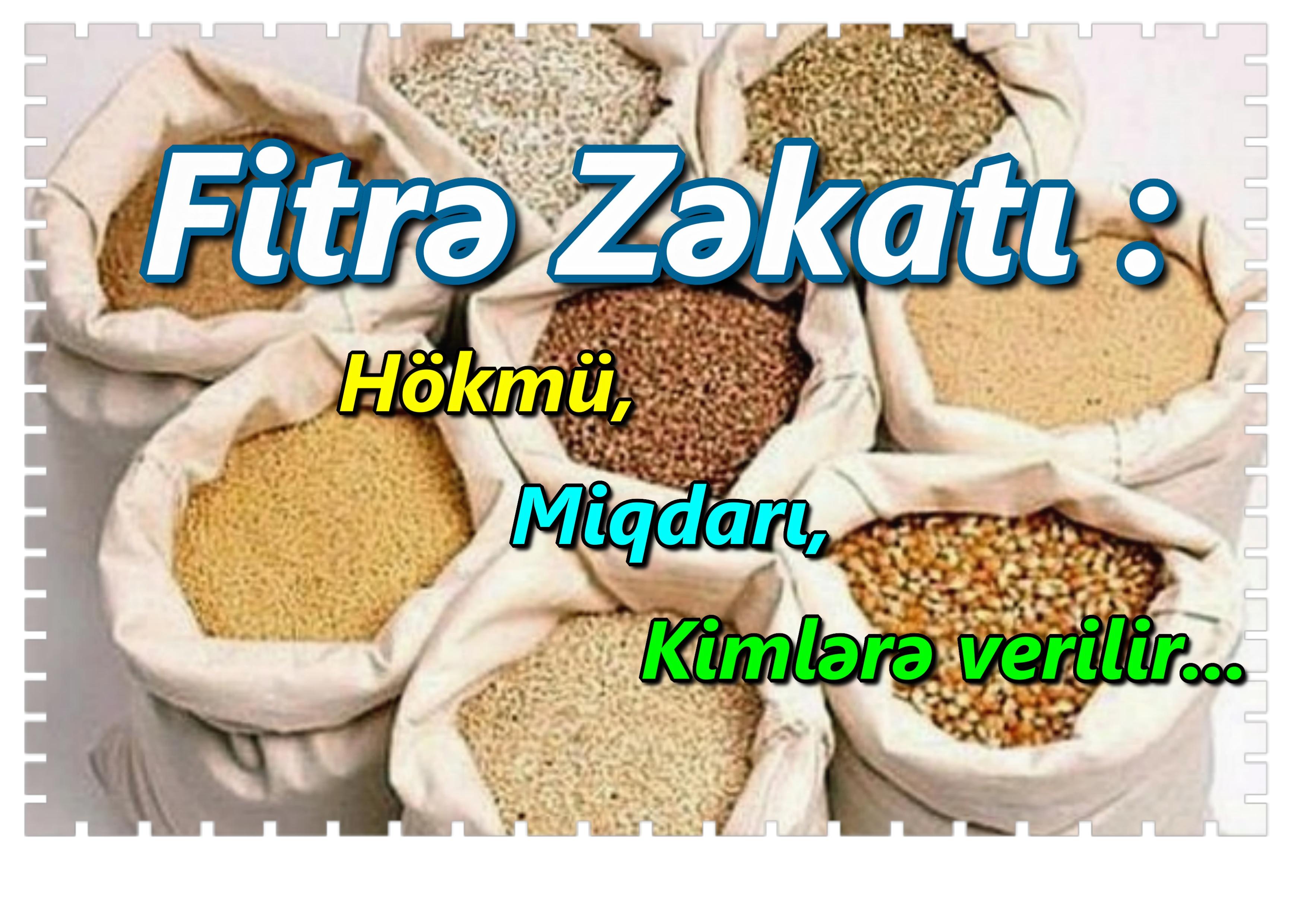 Image result for Fitrə zəkatı