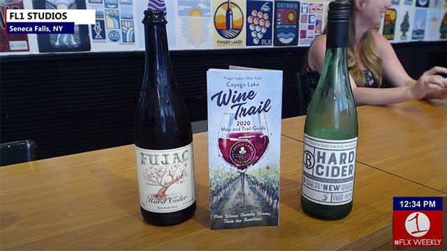 FLX WEEKLY: Ciders of the Cayuga Lake Wine Trail (podcast)