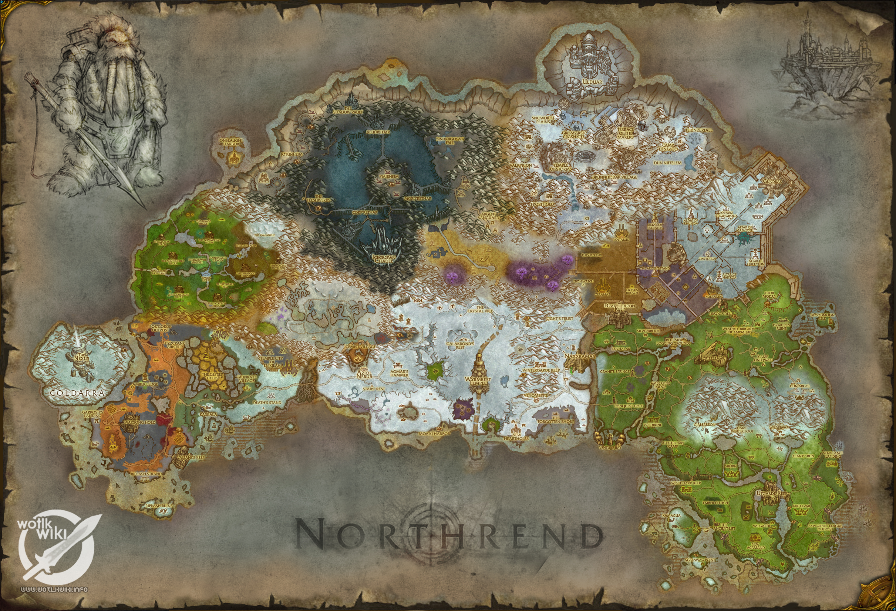 Northrend full composite map wotlkwiki free download borrow download 1 file gumiabroncs Gallery