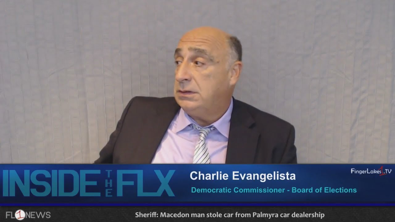 INSIDE THE FLX: Charlie Evangelista talks elections, Ontario County (podcast)