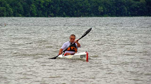 Dan Murn wins Paddle Keuka 5K for second straight year
