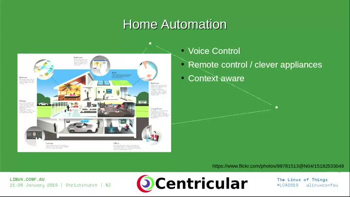 Home multimedia and automation systems with GStreamer