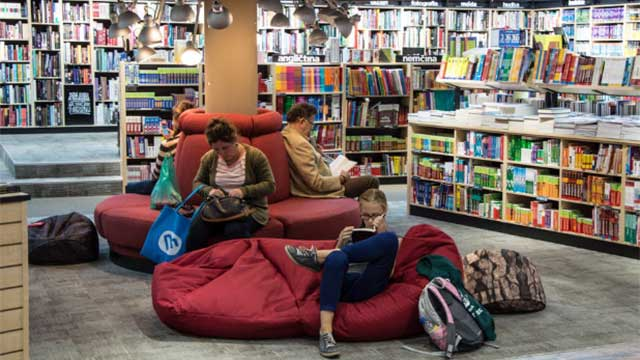 How many people use public libraries nowadays?