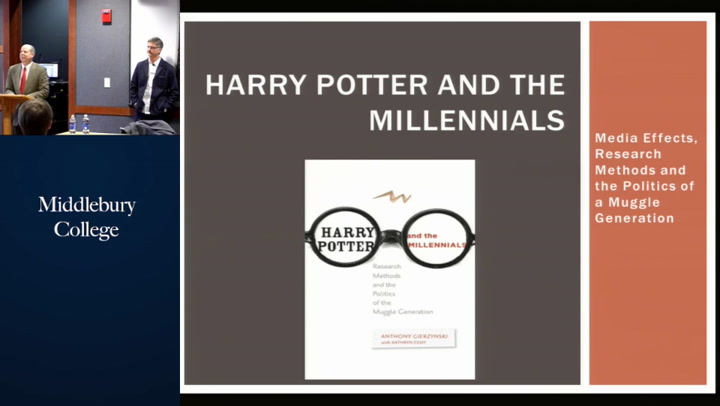 Harry Potter and the Millennials Research Methods and the Politics of the Muggle Generation