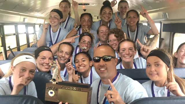 Newark Lady Reds take Section V Class B1 softball title
