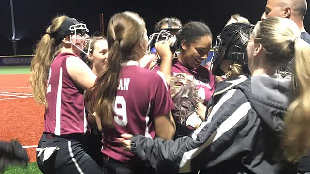 Newark softball heading to Section V title game on Saturday
