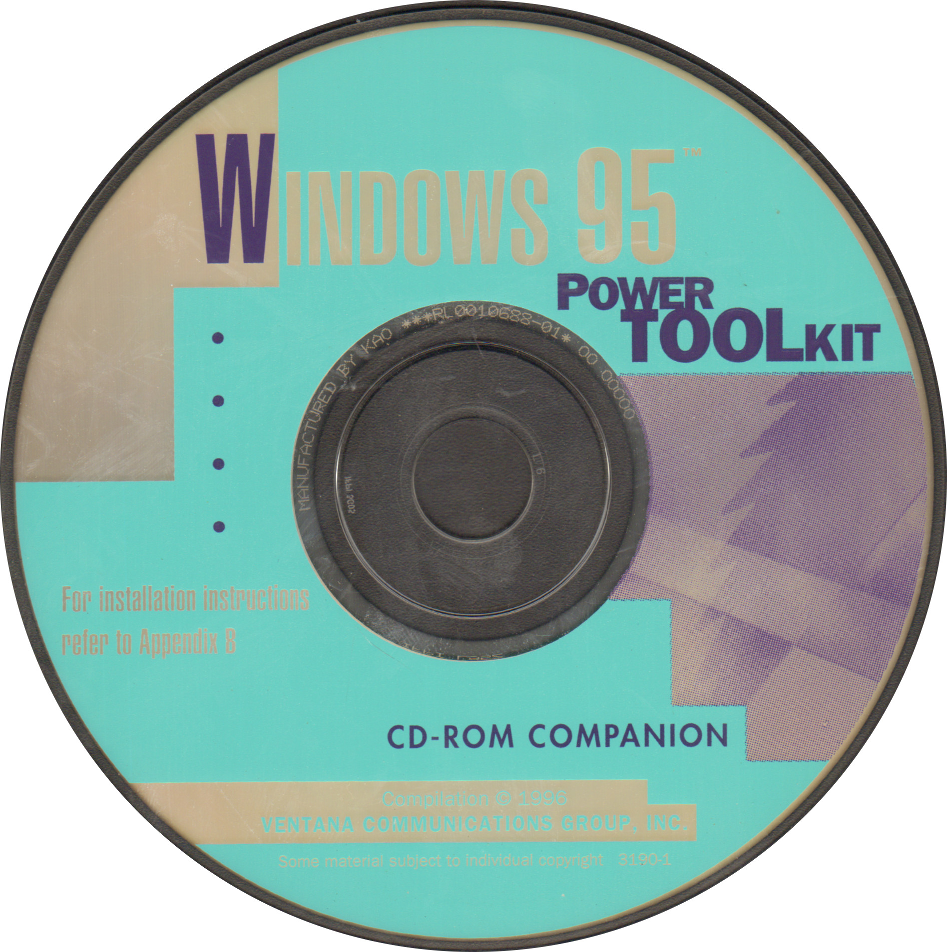 Windows 95 Power Toolkit CD-Rom Companion : Ventana Communications