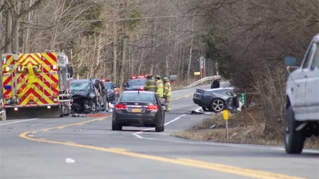 Three helicopters called to scene of serious crash in Ithaca